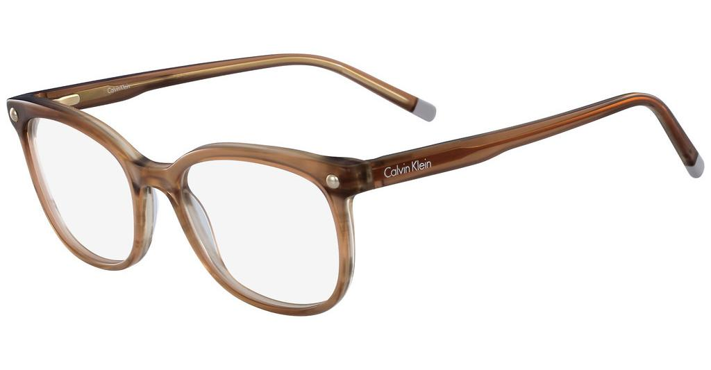 Calvin Klein   CK5972 231 STRIPED BROWN