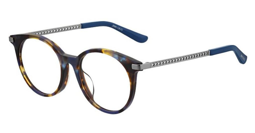 Jimmy Choo   JC224/F JBW BLUE HVNA