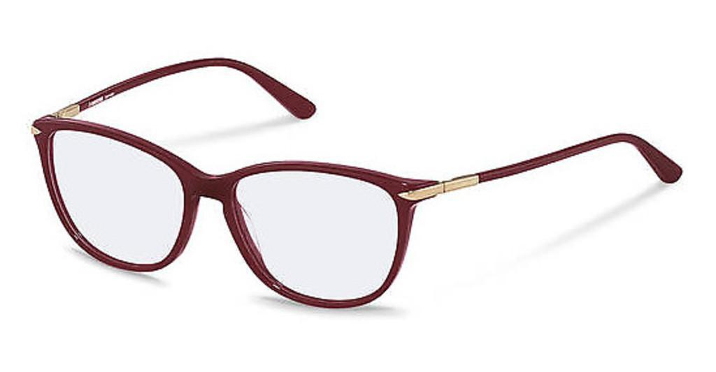 Rodenstock   R5328 C dark red, rose gold