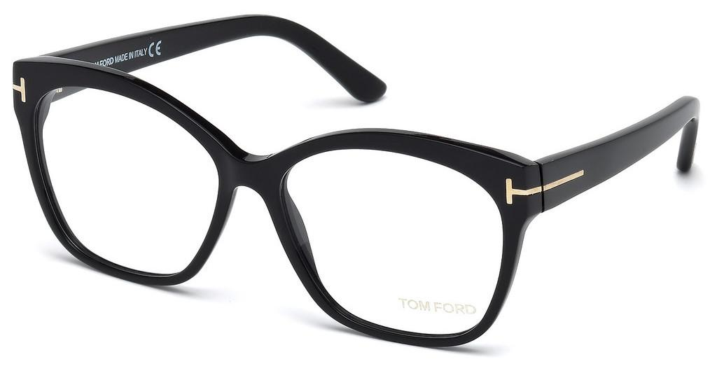 Tom Ford   FT5435 001 schwarz glanz