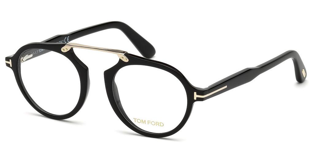 Tom Ford   FT5494 001 schwarz glanz