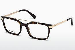 Eyewear Dsquared DQ5209 052 - Brown, Havanna