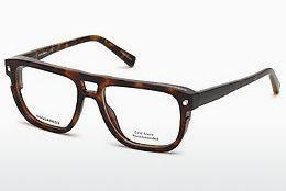 Eyewear Dsquared DQ5237 052 - Brown, Havanna