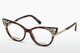 Eyewear Dsquared DQ5256 053 - Yellow, Brown, Havanna