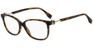 Eyeglasses CK 18542 210 CRYSTAL BROWN