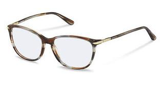 Rodenstock R5328 D brown grey structured, gold