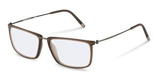 Rodenstock R7071 B dark brown, dark gun
