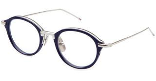 Thom Browne TB-011 H Navy - Silver