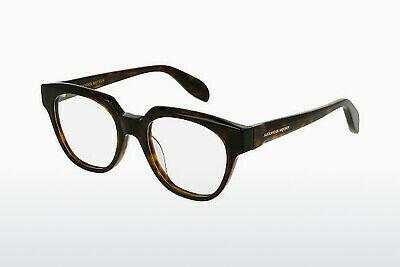 Eyewear Alexander McQueen AM0043O 002 - Brown, Havanna