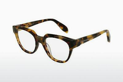 Eyewear Alexander McQueen AM0043O 003 - Brown, Havanna