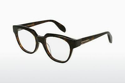 Eyewear Alexander McQueen AM0043O 007 - Brown, Havanna