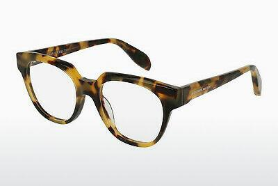 Eyewear Alexander McQueen AM0043O 008 - Brown, Havanna