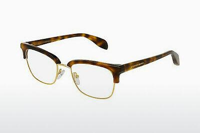 Eyewear Alexander McQueen AM0044O 002 - Brown, Havanna