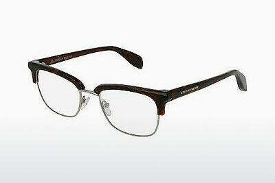 Eyewear Alexander McQueen AM0044O 003 - Brown, Havanna