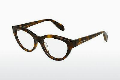 Eyewear Alexander McQueen AM0045O 002 - Brown, Havanna