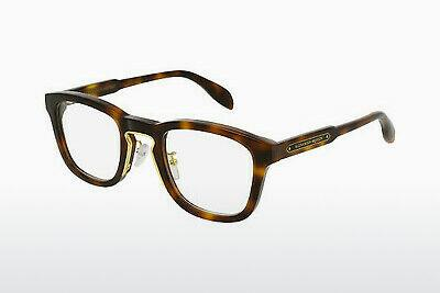 Eyewear Alexander McQueen AM0048O 003 - Brown, Havanna