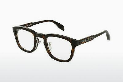 Eyewear Alexander McQueen AM0048O 004 - Brown, Havanna
