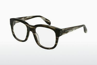 Eyewear Alexander McQueen AM0052O 002 - Brown, Havanna