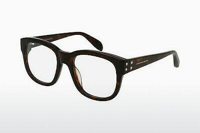 Eyewear Alexander McQueen AM0052O 004 - Brown, Havanna