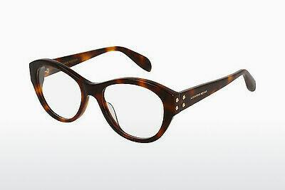 Eyewear Alexander McQueen AM0053O 002 - Brown, Havanna