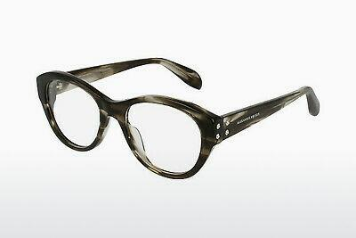Eyewear Alexander McQueen AM0053O 004 - Brown, Havanna