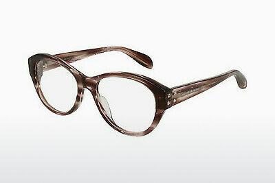 Eyewear Alexander McQueen AM0053O 007 - Brown, Havanna