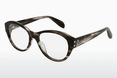 Eyewear Alexander McQueen AM0053O 008 - Brown, Havanna
