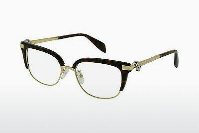 Eyewear Alexander McQueen AM0084O 002 - Brown, Havanna