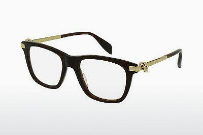 Eyewear Alexander McQueen AM0086O 002 - Brown, Havanna