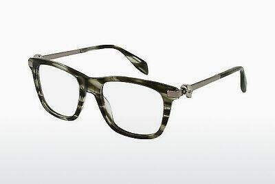 Eyewear Alexander McQueen AM0086O 004 - Brown, Havanna