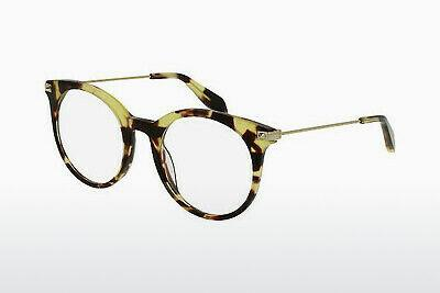 Eyewear Alexander McQueen AM0090O 004 - Brown, Havanna