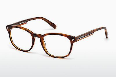 Eyewear Dsquared DQ5177 055 - Brown, Havanna, Multi-coloured