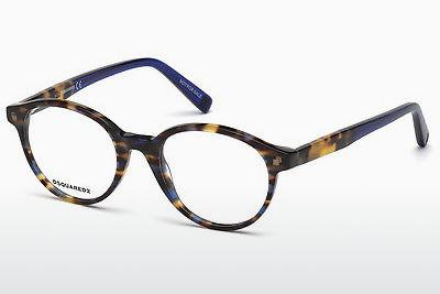 Eyewear Dsquared DQ5227 055 - Multi-coloured, Brown, Havanna