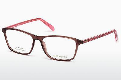 Eyewear Emilio Pucci EP5048 048 - Brown, Dark, Shiny