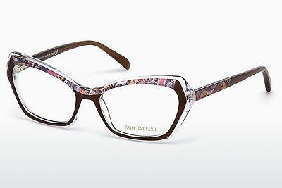 Eyewear Emilio Pucci EP5053 050 - Brown, Dark