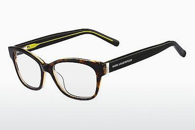 Eyewear Karl Lagerfeld KL821 115 - Brown, Havanna