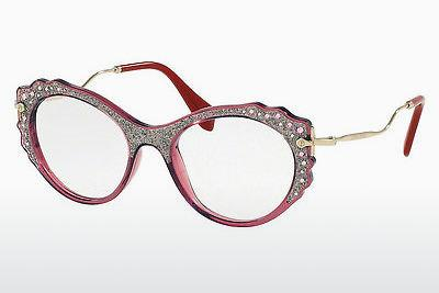 Eyewear Miu Miu MU 01PV USU1O1 - Transparent, Red