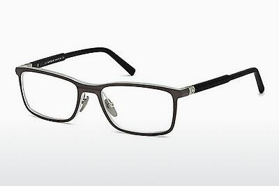 Eyewear Mont Blanc MB0616 013 - Grey, Dark, Matt