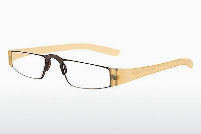 Eyewear Porsche Design P8801 K D2.00 - Yellow, Transparent