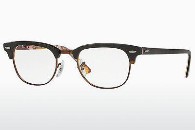 Eyewear Ray-Ban CLUBMASTER (RX5154 5650) - Brown, Havanna, Patterned