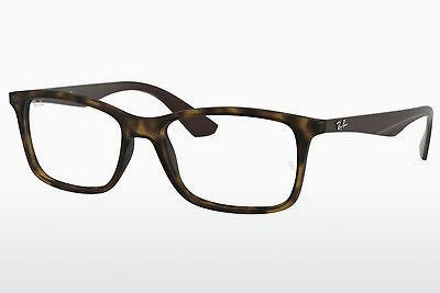 Eyewear Ray-Ban RX7047 5573 - Brown, Havanna