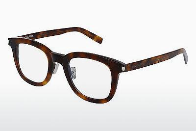 Eyewear Saint Laurent SL 141/F SLIM 002 - Brown, Havanna