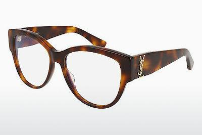 Eyewear Saint Laurent SL M5 002 - Brown, Havanna