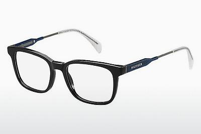 Eyewear Tommy Hilfiger TH 1351 JW9 - Black, Silver, Blue