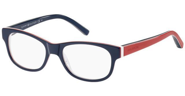 Matt Crystal TH-1361 K56 Acetate Dark Blue Tommy Hilfiger frame