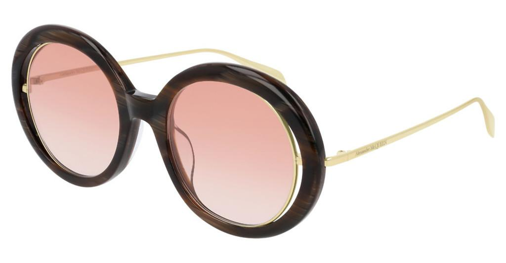 Alexander McQueen   AM0224S 004 ORANGEBROWN