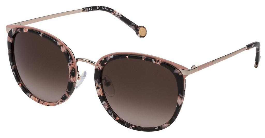 Carolina Herrera   SHE131 09P2 BROWN GRADIENT PINKNERO+ROSA LUCIDO