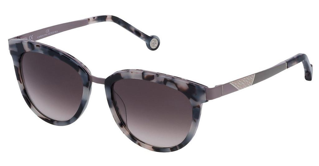 Carolina Herrera   SHE748 09BB BROWN GRADIENT PINKAVANA NERO/BIANCO