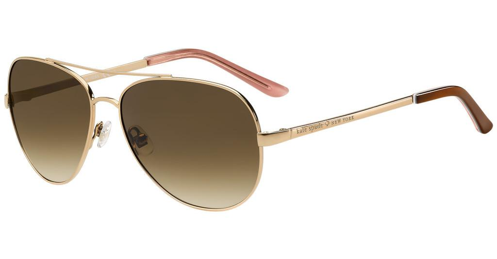 Kate Spade   AVALINE/S AU2/Y6 BROWN SFRED GOLD