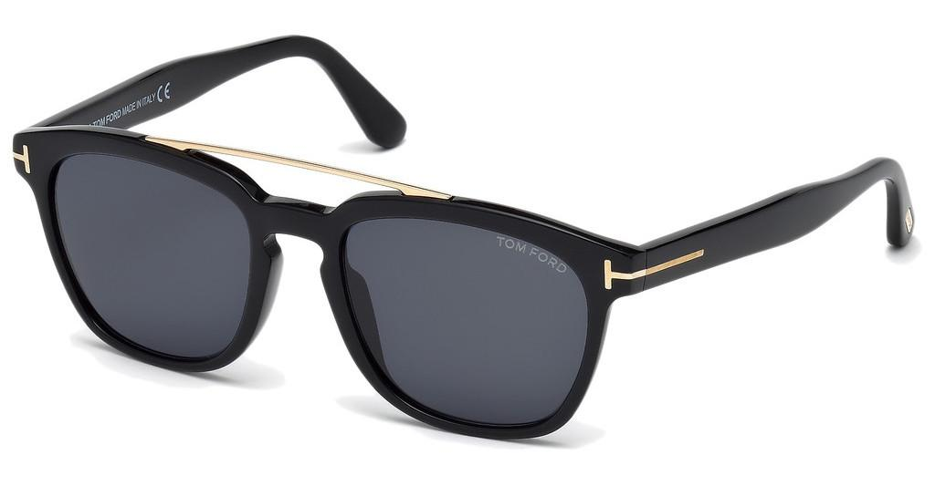 Tom Ford   FT0516 01A grauschwarz glanz